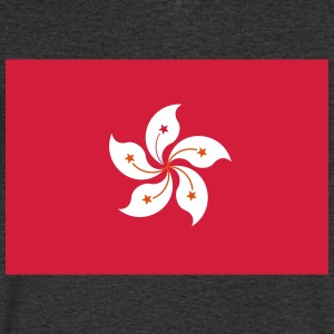 National Flag Of Hong Kong - Men's V-Neck T-Shirt