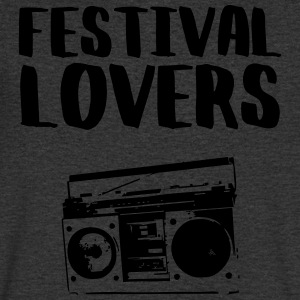 Festival lovers - Men's V-Neck T-Shirt