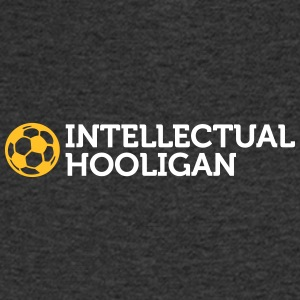 Intellectuele Hooligan - Mannen T-shirt met V-hals