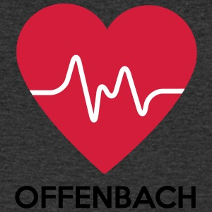 Heart Offenbach - Men's Organic V-Neck T-Shirt by Stanley & Stella