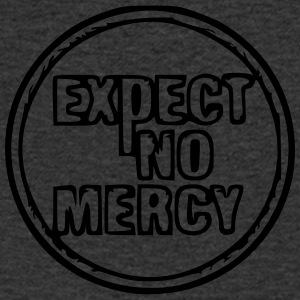 Expect no mercy - Men's Organic V-Neck T-Shirt by Stanley & Stella