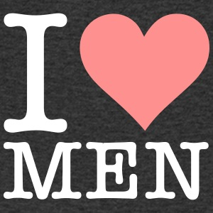 I Love Men! - Men's V-Neck T-Shirt