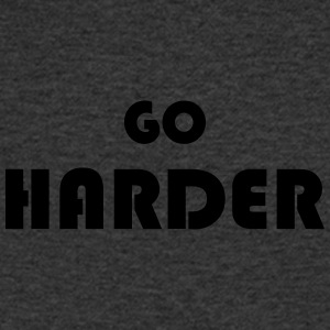 Go harder - T-shirt Homme col V