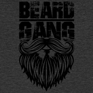 Beard gang black - Men's V-Neck T-Shirt