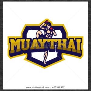 Muay Thai - Men's Organic V-Neck T-Shirt by Stanley & Stella
