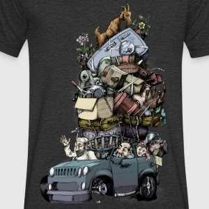 Road trip - Men's Organic V-Neck T-Shirt by Stanley & Stella