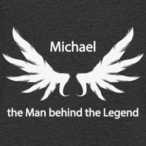 Michael the Man behind the Legend - Men's Organic V-Neck T-Shirt by Stanley & Stella