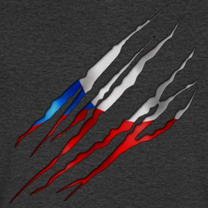 Czech Republic Slit open 001 AllroundDesigns - Men's V-Neck T-Shirt