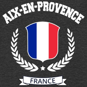 Aix en Provence, France - Men's Organic V-Neck T-Shirt by Stanley & Stella