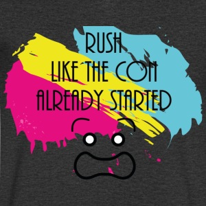 Rush Like the Con Already Started - T-shirt bio col en V Stanley & Stella Homme