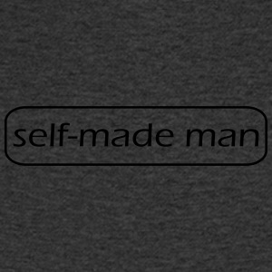 selfmade man - Men's Organic V-Neck T-Shirt by Stanley & Stella