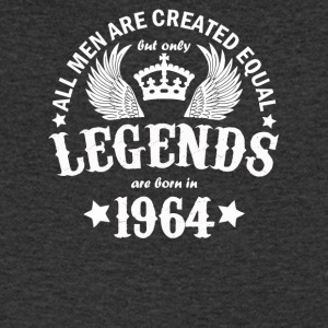 Only Legends Are Born in 1964 - Men's Organic V-Neck T-Shirt by Stanley & Stella
