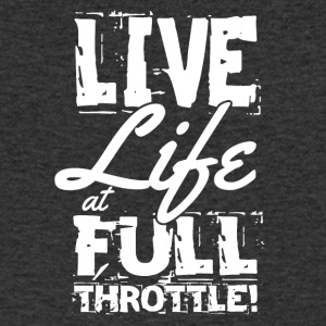 Motorcyclists always go full throttle - Men's Organic V-Neck T-Shirt by Stanley & Stella
