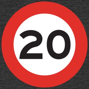 20mph - Men's V-Neck T-Shirt