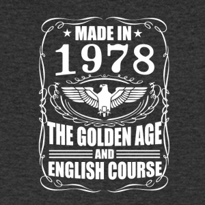 Made in 1978 - The Golden Age - Stanley & Stellan naisten luomupikeepaita