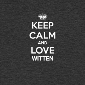 Keep Calm and love WITTEN - Men's Organic V-Neck T-Shirt by Stanley & Stella