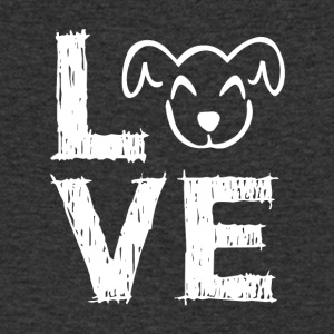 Dogs - Love - Men's Organic V-Neck T-Shirt by Stanley & Stella