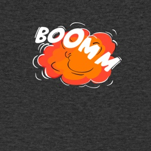 Comic pop Peng explosion crash humor Rums boom w - Men's Organic V-Neck T-Shirt by Stanley & Stella
