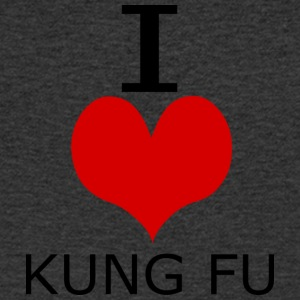 ICHLIEBEKUNGFU - Men's V-Neck T-Shirt