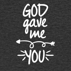 God gave me you (left arrow) - Men's V-Neck T-Shirt