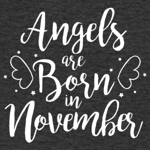 Angels are born in November - Men's Organic V-Neck T-Shirt by Stanley & Stella