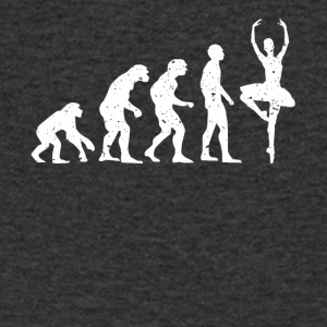 EVOLUTION BALLERINA! - Men's Organic V-Neck T-Shirt by Stanley & Stella