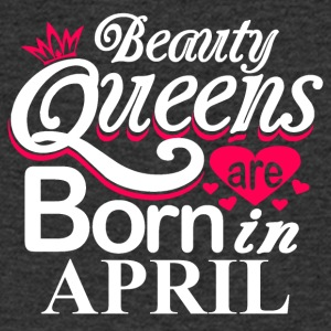 Beauty Queens Born in April - Men's V-Neck T-Shirt