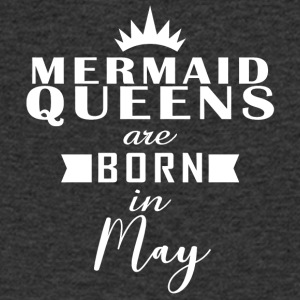 Mermaid Queens mei - Mannen T-shirt met V-hals