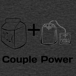 cuple power - Men's V-Neck T-Shirt