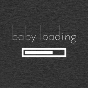 Baby loading - Men's V-Neck T-Shirt