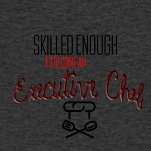 Skilled enough to become an executive chef - Men's V-Neck T-Shirt