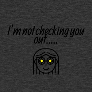 I am not checking you - Men's Organic V-Neck T-Shirt by Stanley & Stella