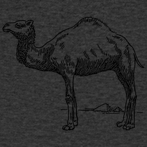 dromedary - Men's V-Neck T-Shirt