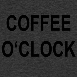 Coffee o'clock - Men's V-Neck T-Shirt