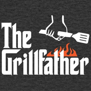 den Grillfather - T-shirt med v-ringning herr