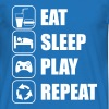 Eat Sleep Play Repeat - Koszulka męska