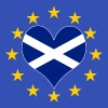 Scotland European EU Love - Men's T-Shirt