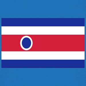 National Flag Of Costa Rica - Herre-T-shirt