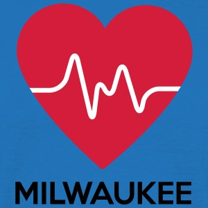 heart Milwaukee - Men's T-Shirt