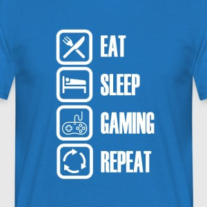 I LOVE GAMING - For alle spillere - T-skjorte for menn