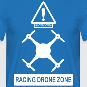 racingdrone wite - T-shirt Homme
