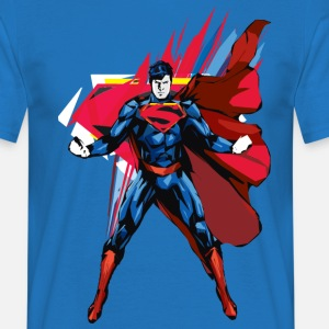 Superman Pose Männer T-Shirt