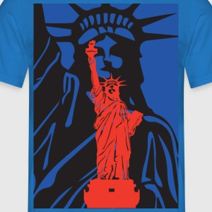 Statue of Liberty-statue of liberty-USA - T-skjorte for menn