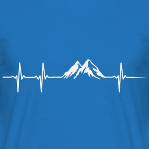 Heartbeat Berg - Men's T-Shirt