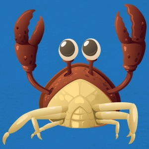 Crab red - Männer T-Shirt