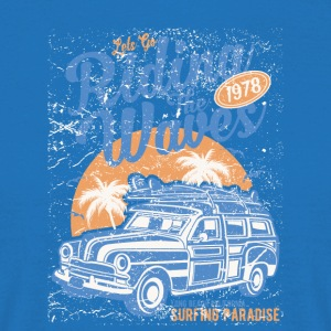 Riding The Waves - Men's T-Shirt