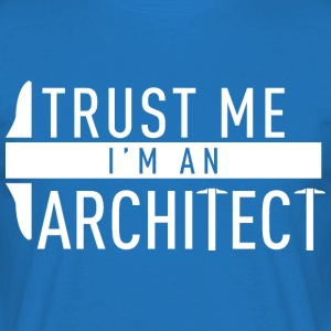 architect architectuur - Mannen T-shirt
