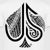 ACE of Spades Tribal  - Men's T-Shirt