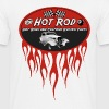 Hot Rod flaming logo - T-shirt Homme