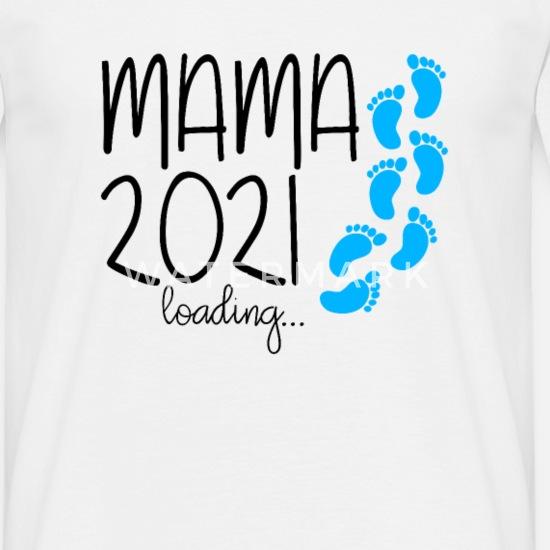 Femme MAMAN 2021 CHARGEMENT FUTURE MAMAN PARENTS NAISSANCE CADEAU T-Shirt